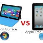 Apple iPad Mini vs. Microsoft Surface Tablet – Comparison and Problems