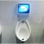 Latest Advancement: Video Game Urinals with Wii U Technology