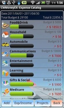 Android-budget-control